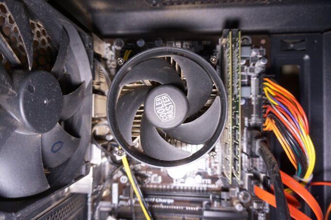 パソコンのCPUファン