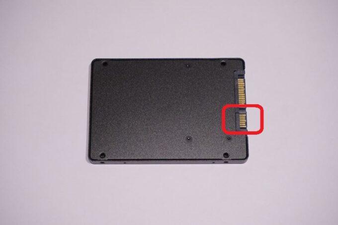 SSDの取り付け方