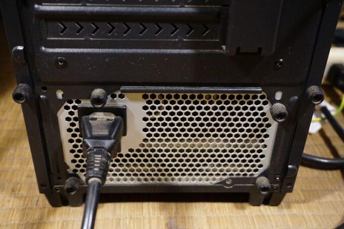 SSDの付け方