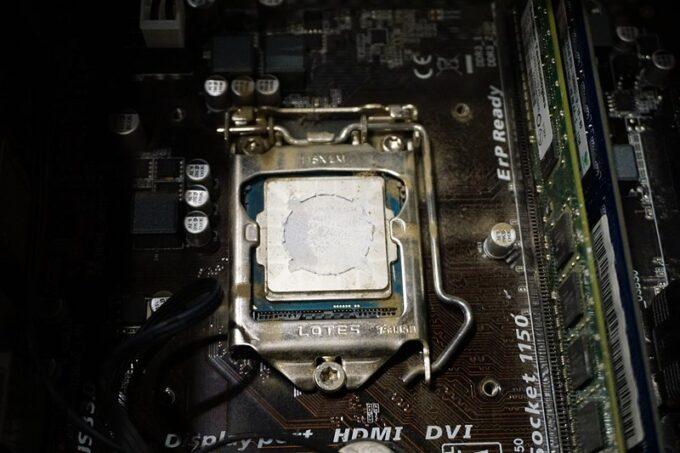 自作パソコンの掃除